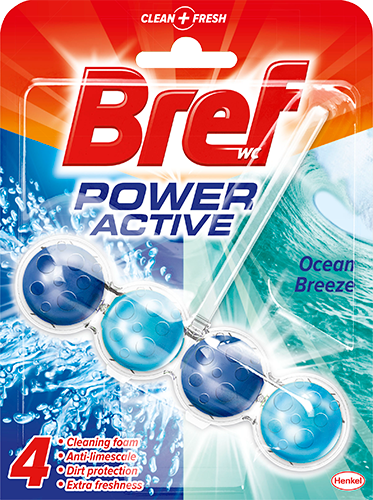 Bref Power Active Ocean Breeze wc-raikastin