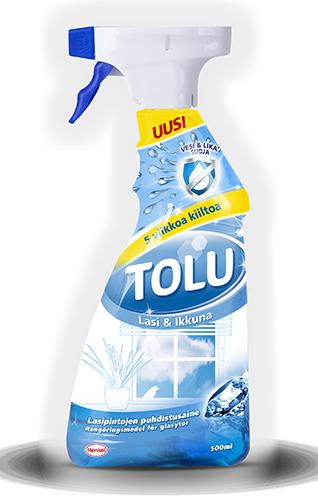 Tolu Lasi & Ikkunaspray 500 ml  Tolu f