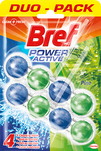 WC Bref Power Active Pineduo Pack